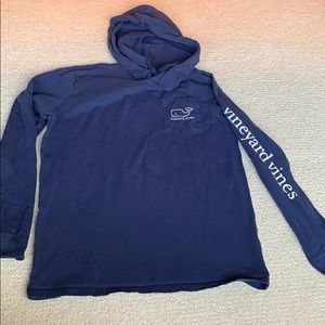 Vineyard vines long sleeve hood t shirt kid as 16
